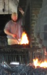 Fire - Blacksmith in Williamsburg, Virginia